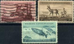 Ref. 207264 * USED *  - UNITED STATES . 1956. PRESERVATION OF WILD FAUNA. PRESERVACION DE LA FAUNA SALVAJE - Vereinigte Staaten