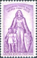 Ref. 161660 * NEW *  - UNITED STATES . 1957. HOMENAJE A LOS COMBATIENTES DE LA POLIOMELITIS - Neufs