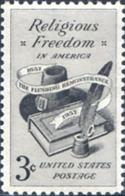 Ref. 161671 * NEW *  - UNITED STATES . 1957. LIBERTAD RELIGIOSA - Nuovi