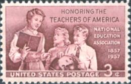 Ref. 161666 * NEW *  - UNITED STATES . 1957. CENTENARY OF THE NATIONAL ASSOCIATION FOR EDUCATION. CENTENARIO DE LA ASS - Neufs