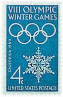 Ref. 72076 * NEW *  - UNITED STATES . 1960. 8th OLYMPIC WINTER GAMES. SQUAW VALLEY 1960. 8 JUEGOS OLIMPICOS  INVIERNO SQ - Nuevos
