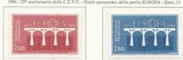 PIA  -  FRANCIA  -  1984  :  Europa  (Yv  2309-10) - Europa-CEPT