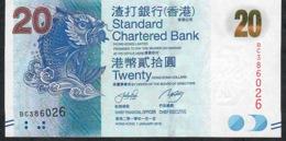 HONG-KONG P297a 20 DOLLARS 1.1.2010 FIRST DATE     #BC     UNC. - Hong Kong