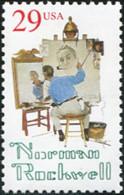 Ref. 306313 * NEW *  - UNITED STATES . 1994. CENTENARIO DELNACIMIENTO DE NORMAN ROCKWELL (1894-1978) PINTOR E ILUSTRADOR - Neufs