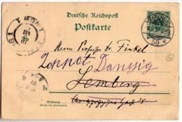 Germany Berlin Zoppot Danzig Lemberg Lwow 1897 - Briefe U. Dokumente