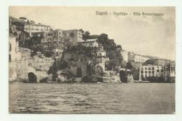 NAPOLI - POSILLIPO - VILLA ROCCAROMANO  VIAGGIATA FP - Napoli (Naples)