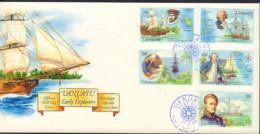Ref. 414035 * NEW *  - VANUATU . 1999. EXPLORADORES EUROPEOS - Vanuatu (1980-...)