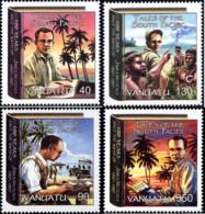 Ref. 227539 * NEW *  - VANUATU . 2007. JAMES A. MICHENER - AMERICAN WRITER. JAMES A. MICHENER - ESCRITOR AMERICANO - Vanuatu (1980-...)