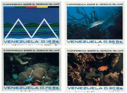 Ref. 59941 * NEW *  - VENEZUELA . 1974. 3 CONFERENCIA SOBRE EL DERECHO DEL MAR - Venezuela