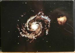 GALAXIE DES CHIENS DE CHASSE ET SON COMPAGNON NGC 5195 - Astronomia