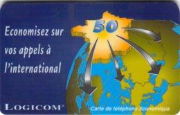 Carte Prépayée  - LOGICOM  -  Prépaid - Frankrijk