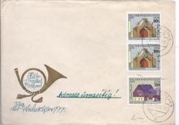 AK-div.29- 515 - Misch Frankatur - Historisches Posthorn - Tag Der Philatelisten 1975 - Nach Nidda - Private & Local Mails