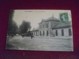 - C P A -----55------SAINT-MIHIEL------la Gare Et L'avenue . - Saint Mihiel