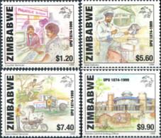 Ref. 46582 * NEW *  - ZIMBABWE . 1999. 125th ANNIVERSARY OF UPU. 125 ANIVERSARIO DE LA UPU - Zimbabwe (1980-...)