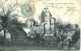 N°76128 -cpa Un Coin Du Château De Carlus - France