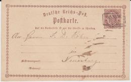 Oldenburg Nv Ra2 Sande Friesland Ganzsache DR P 1 Ca 1874 - Oldenburg