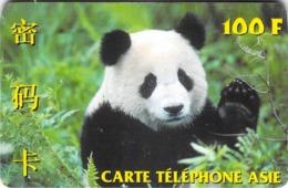 Carte Prépayée  - CARTE TELEPHONE ASIE  -  Prépaid - Frankrijk