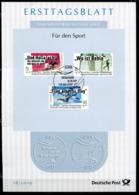 """Germany,Bund 2019 ETB 18 /2019 Mi.Nr.3460/62 """"Für Den Sport ,Olympische Spiele """"1 Big ETB - [7] República Federal"""
