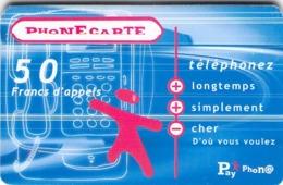 Carte Prépayée  - PLAY PHON@  -  Prépaid - Frankrijk