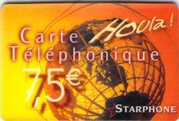 Carte Prépayée  - STARPHONE HOULA-  Prépaid - Andere Voorafbetaalde Kaarten