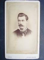 Photo Second Empire...75 ,paris , Portrait D'un Homme à Moustache .....photo Jamin - Photographs