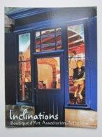 Boutique D'Art, La Charité-sur-Loire (58)  - Carte De Collection Publicitaire - Advertising