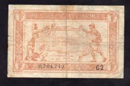Trésorerie Aux Armées- 1 Francs -  Série C2 - - Tesoro