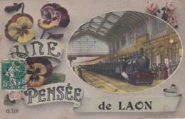 LAON - AISNE  -  (02)  -  CPA ORIGINALE DE 1909. - Laon