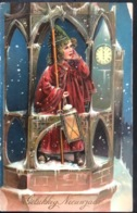 (1634) Gelukkig Nieuwjaar - Hoog In De Toren -  1911-12 - Nouvel An