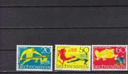 Liechtenstein 1969 Yv.466/68 Mi.518/20 MNH** - Liechtenstein