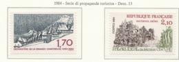 PIA -FRA -  1984  :  Serie Di Propaganda Turistica  -  (Yv  2323-26) - Francia