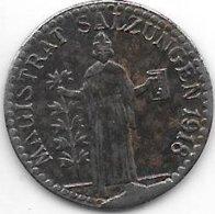*notgeld Salzungen   10 Pfennig  1918. Fe  466.2a - [ 2] 1871-1918 : Empire Allemand