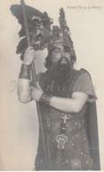 Czech Opera Artist - 1930/40 - Postcard: Robert Burg - Role Of Wotan. - Zangers En Musicus