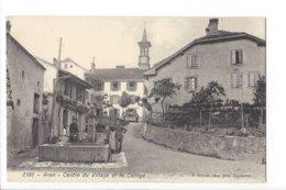 23539 - Aran Centre Du Village Et Le Collège Fontaine - VD Waadt