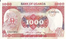OUGANDA 1000 SHILLINGS 1986 UNC P 26 - Oeganda