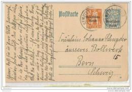 230 - 39 - Entier Postal Envoé De Kempten En Suisse 1920 - Deutschland