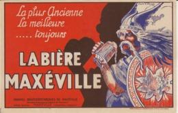 LA BIERE MAXEVILLE  D'aprés V.BOUX (gaulois) - Meurthe Et Moselle 21 X 13.5 Cm Bon Etat - Liqueur & Bière