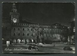 BOLOGNA - PALAZZO COMUNALE - VIAGGIATA AFFRANCATURA ASPORTATA - ANGOLI ROVINATI - 004 - Bologna