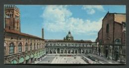 BOLOGNA - PIAZZA MAGGIORE - VIAGGIATA CON AFFRANCATURA 1962 - ANGOLI ROVINATI - 005 - Bologna