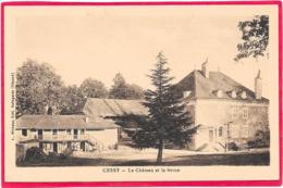 01 CESSY - Le Château Et La Ferme - Autres Communes