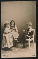 FOTOKAART  CARTE PHOTO   MOOI MEISJE  BELLE FILLETTE - Enfants