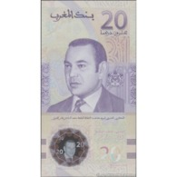 TWN - MOROCCO NEW - 20 Dirhams 2019 Polymer - 20th Anniversary Of Enthronement Of King Mohammed VI UNC - Marocco
