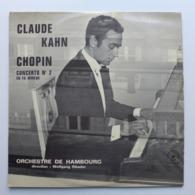 LP/ Claude Kahn;  Chopin - Concerto N° 2  Op.21 En Fa Mineur - Clásica