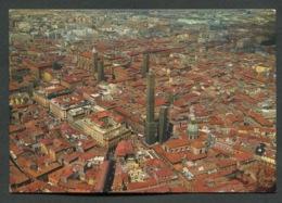 BOLOGNA - PANORAMA - VIAGGIATA CON AFFRANCATURA 1972 - ANGOLI ROVINATI - 009 - Bologna