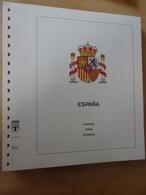 Spanien Lindner T Falzlos 2008-2011 (12355) - Vordruckblätter