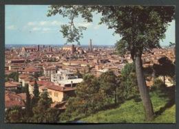 BOLOGNA - PANORAMA - VIAGGIATA CON AFFRANCATURA 1972 - ANGOLI ROVINATI - 013 - Bologna