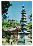 Corée Du Sud  Pusan  A9 - Story Stone Pagoda Of Bumosa Temple TBE - Korea (Zuid)