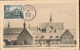 BELGIUM  1948 ISSUE COB 774 ACHEL MC - Maximum Cards