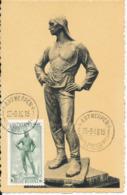 BELGIUM  1948 ISSUE COB 785 ANTWERPEN MC - Maximum Cards