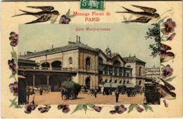 CPA PARIS 14e Gare Montparnase (575931) - Metropolitana, Stazioni